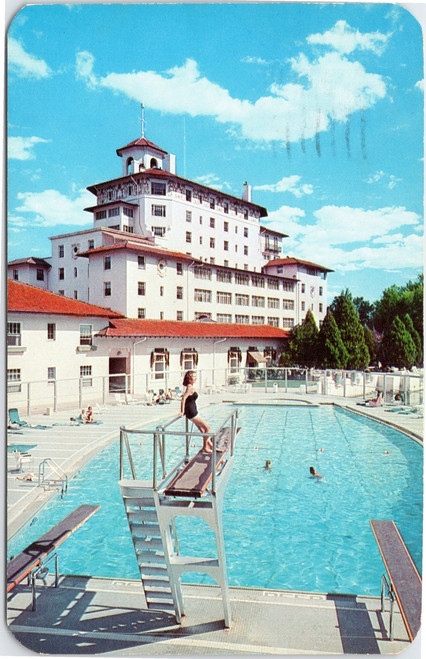 Broadmoor Hotel  pool scene