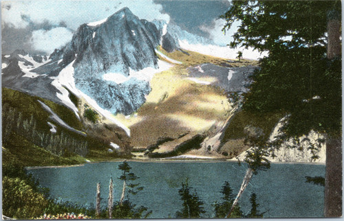 Snow Mass Lake - Hagerman Peak