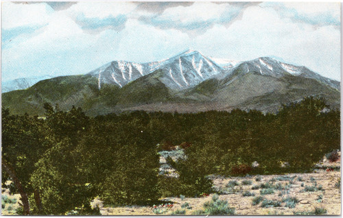 Mount Harvard, West of Salida