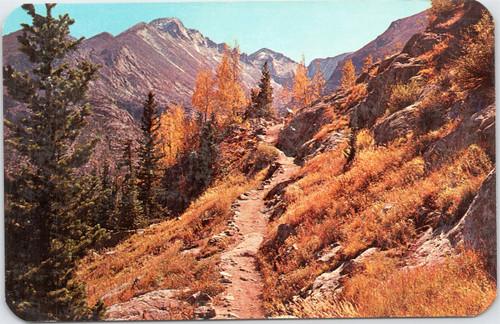 Vista of Long's Peak From Dream Lake Trail