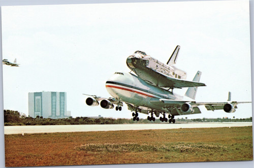 Columbia and NASA 747