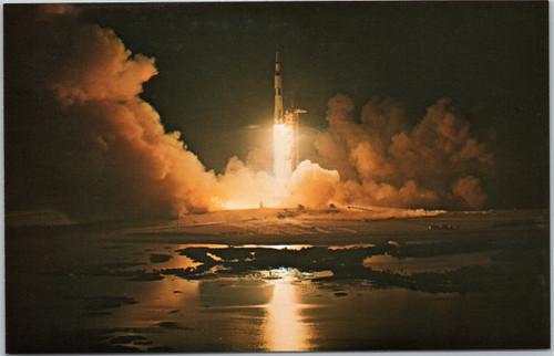 Recreation of Apollo XI Launch