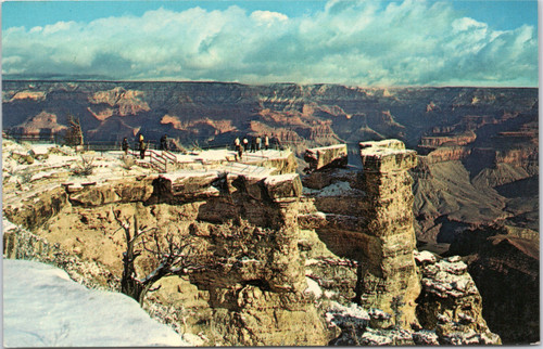 Winter at Grand Canyon National Park Arizona
