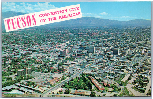 Aerial - Tuscon Convention city of the Americas