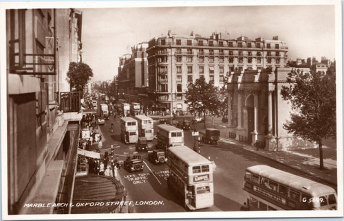 Marble Arch and Oxford Street
