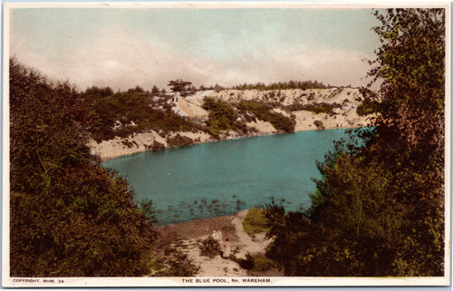 The Blue Pool near Wareham