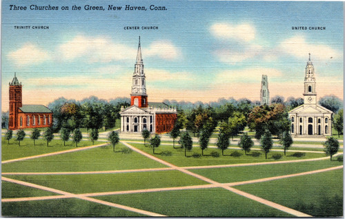 Three churches green new haven