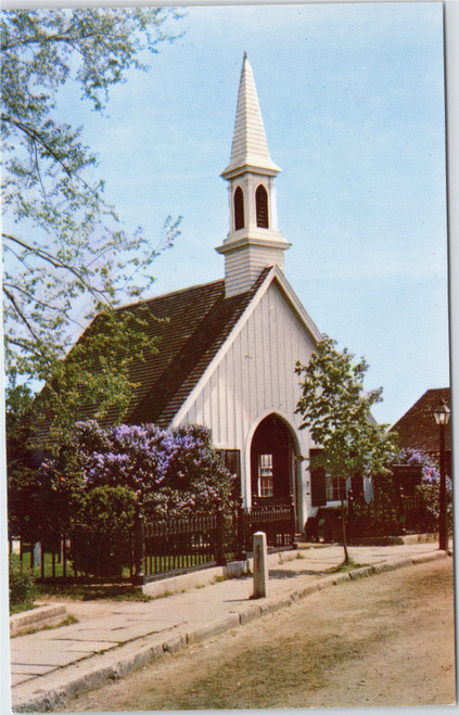 Mystic Seaport - Fishtown Chapel