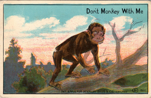 Don't Monkey with Me