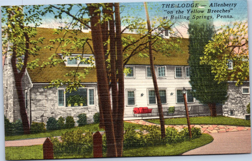 "The Lodge - Allenberry ""on the Yellow Breeches"" at Boiling Springs"