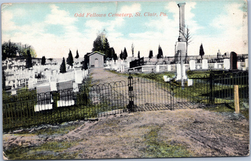 Odd Fellows Cemetary, St. Clair PA