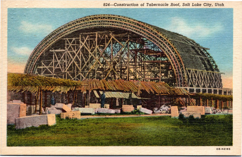 Construction of Tabernacle Roof
