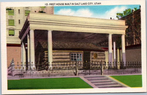 First House Built in Salt Lake City