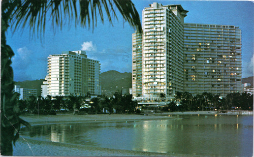 The Ilikai on Waikiki Beach