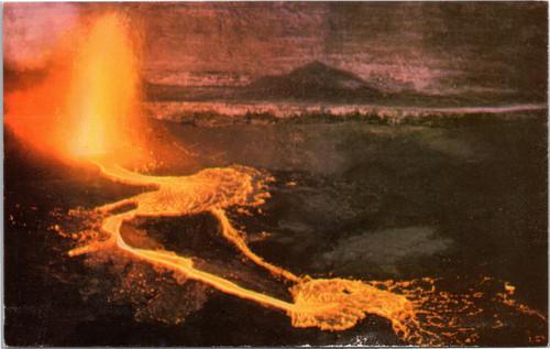 Halemaumau Firepit, Kilauea Volcano