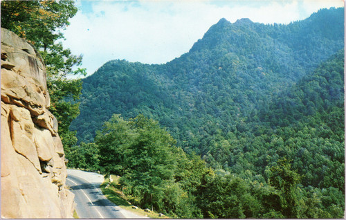 Chimney Tops and US 441 Transmountain Highway