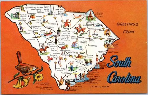 South Carolina greetings