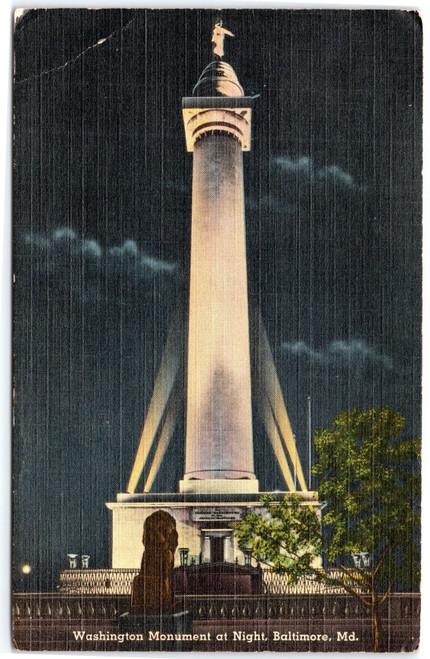 The Washington Monument - Mt. Vernon Place