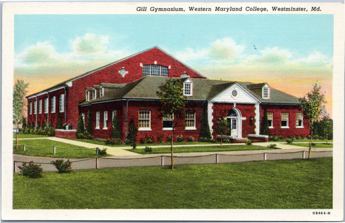 Western Maryland College - Gill Gymnasium