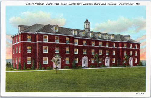 Western Maryland College - boy's dorm