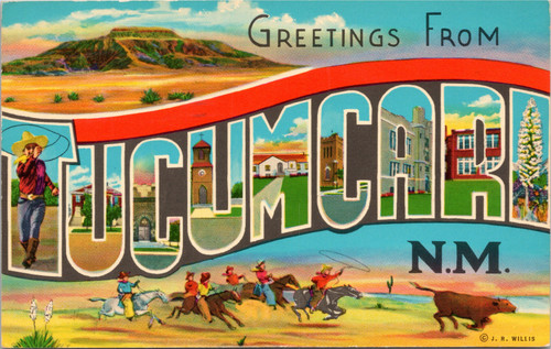 Greetings form Tucumcari