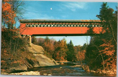 Old Covered Chiselville Bridge