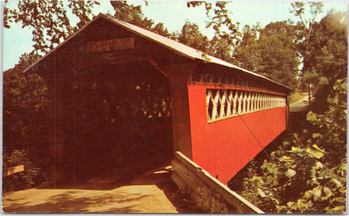The Covered Chiselville Bridge