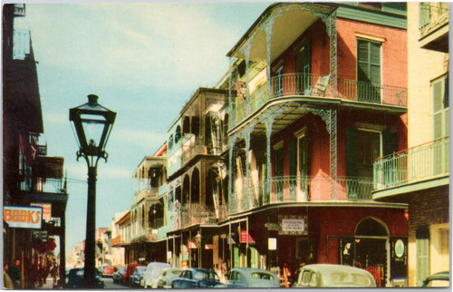 Saint Peter Street, New Orleans