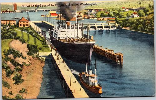 Seattle Canal Locks