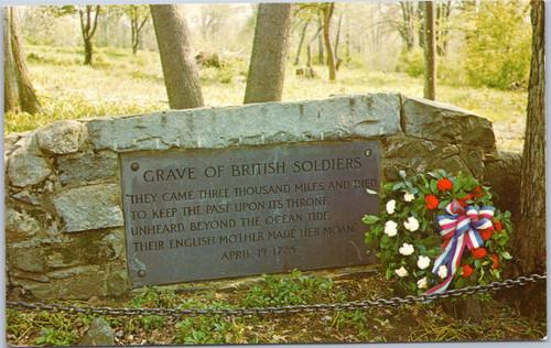 Grave British Soldiers