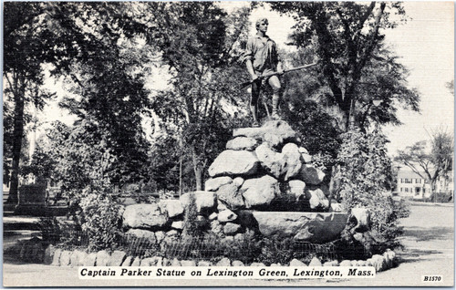 Captain Parker Statue