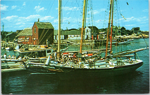 "Bearskin Neck from ""T"" Wharf"