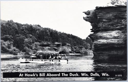 Wisconsin Dells At Hawk's Bill Aboard the Duck