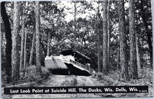Wisconsin Dells Last Look Point at Suicide Hill