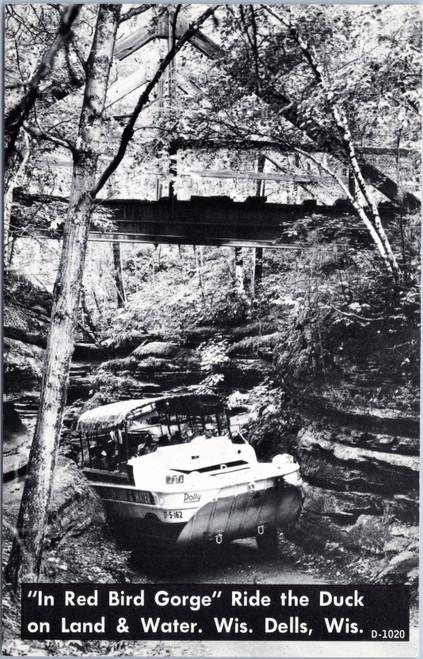 Wisconsin Dells In Red Bird Gorge