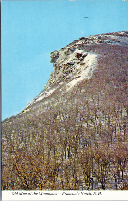 Franconia Notch - Old Man of the Mountains