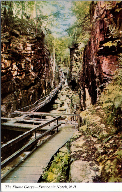 Franconia Notch - The Flume Gorge