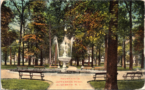 Jefferson Park Elizabeth NJ