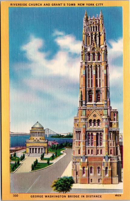 New York City - Riverside Church Grants Tomb