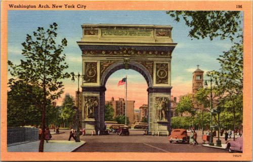 New York City - Washington Arch