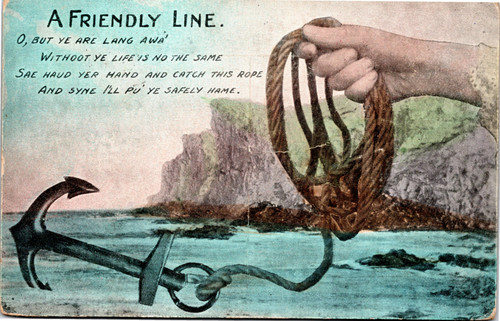 A friendly line anchor