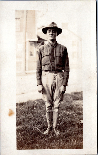 Man in WWI uniform