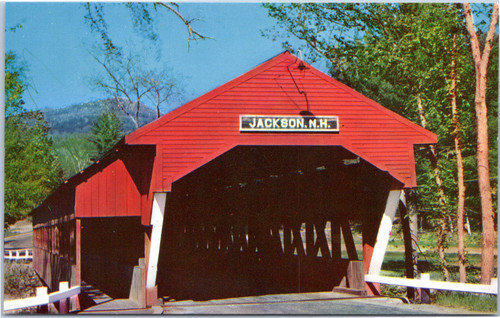 Covered Bridge to village of Jackson