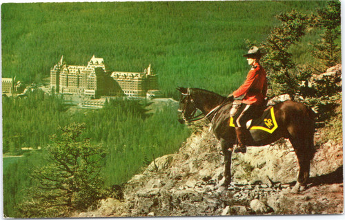 Banff Hotel and Mountie