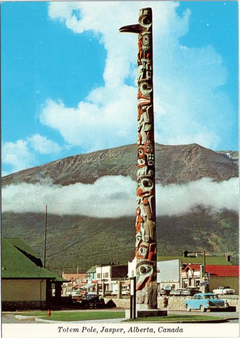 Totem Pole in Jasper