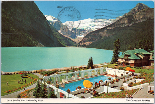 Lake Louise and Swimming Pool