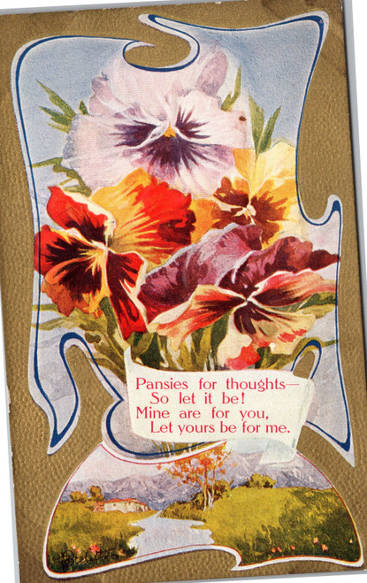 Pansies for thoughts
