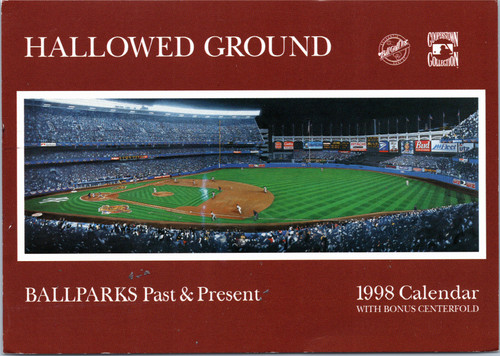 baseball calendar postcard advertisement