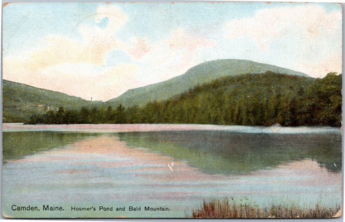Hosmer's Pond and Bald Mountain