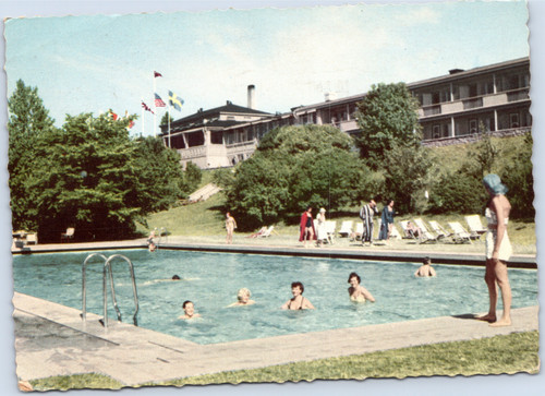 People in Swimming Pool Sweden